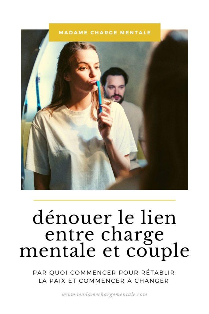 dénouer le lien entre charge mentale et couple - madame charge mentale
